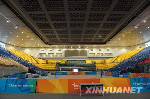 北京奥运会排球比赛场馆 首都体育馆 一