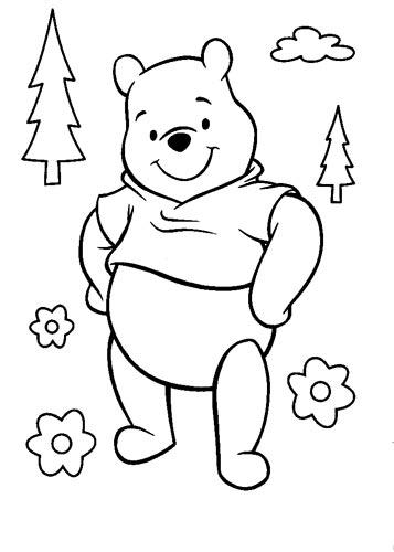 儿童涂色填色画