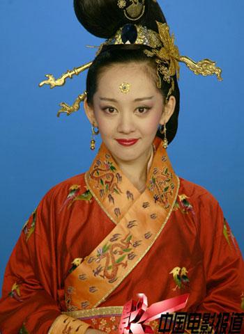 大唐贵妃发型图片展示图片