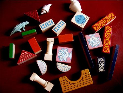 八九十年代的积木玩具