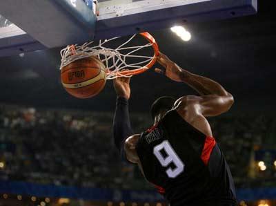 奥运会:男子篮球决赛 体育赛事一览 cctv.com
