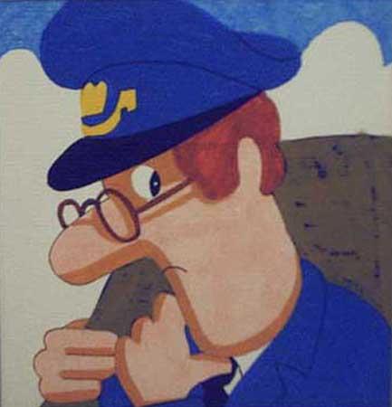 漫画版的《邮递员派特叔叔》
