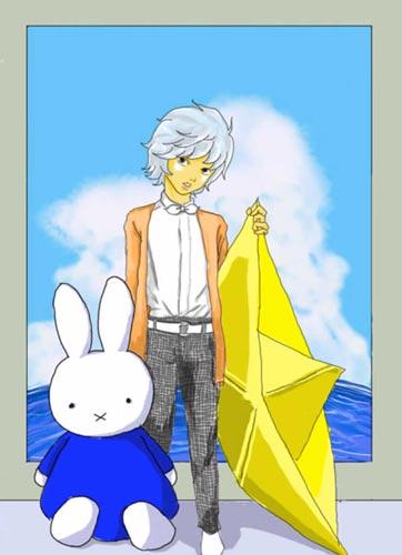 米菲兔--涂鸦展