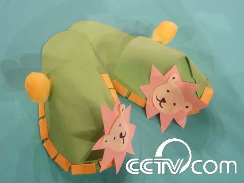 海绵纸做出小动物和树_纸盘制作小动物图解,纸折小动物图解