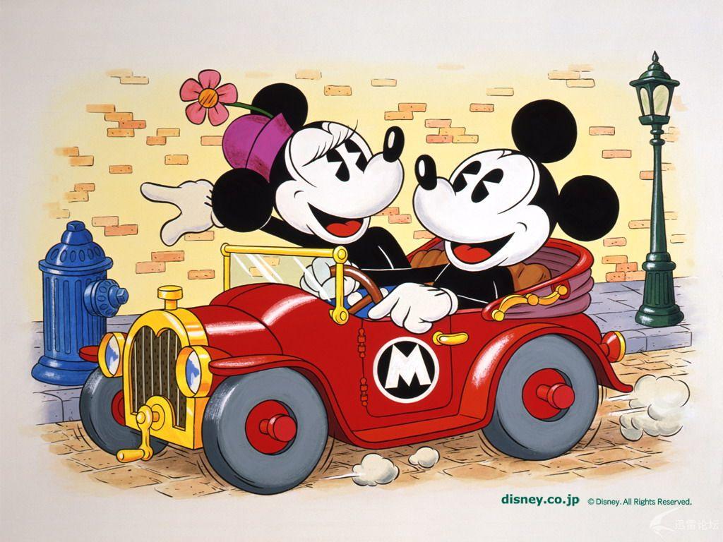 迪士尼卡通米老鼠动漫宽屏壁纸