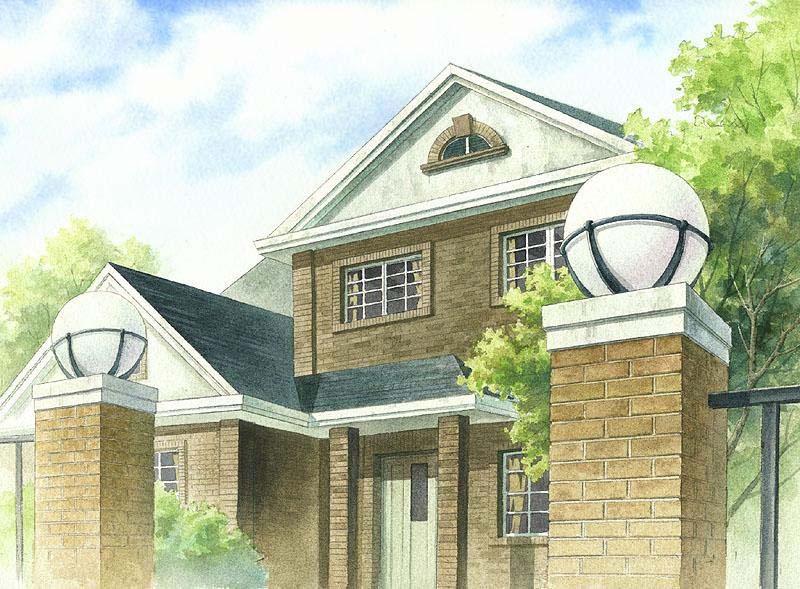别墅 平面图 800_589