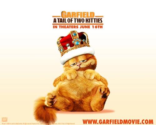 加菲猫2 之双猫记 精彩壁纸欣赏