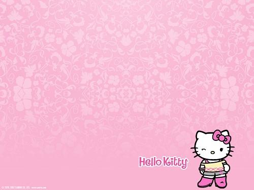 kitty凯蒂猫*可爱*壁纸!