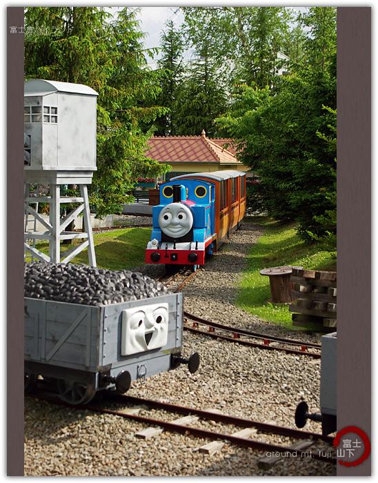 可爱简笔画托马斯各小火车