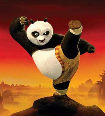 熊猫手指表情包分享展示