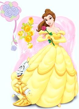 儿童简笔画贝儿公主