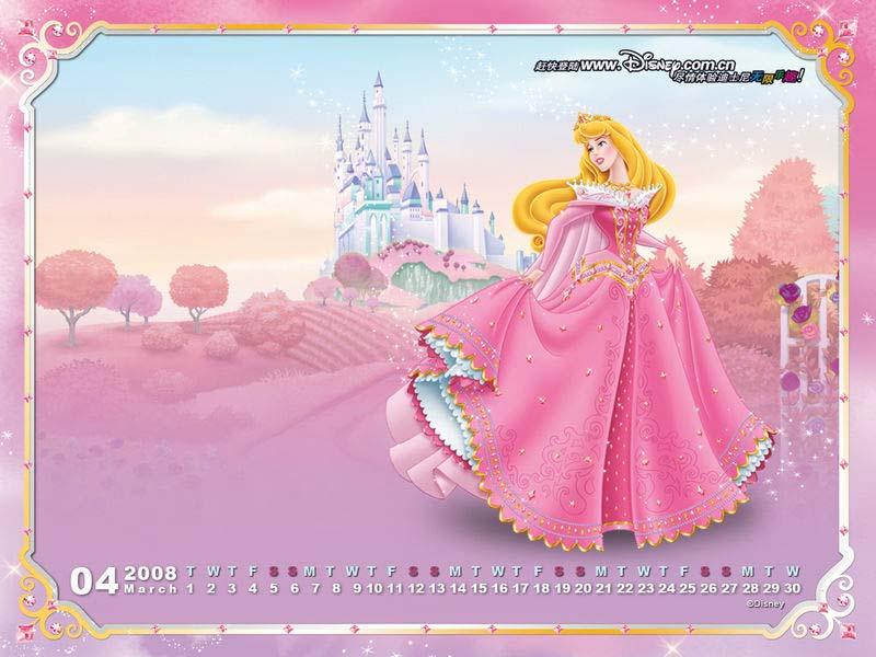 梦幻公主*漂亮壁纸*睡美人爱洛公主