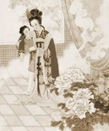 传说的杨贵妃图-蔷薇的日志-网易博客