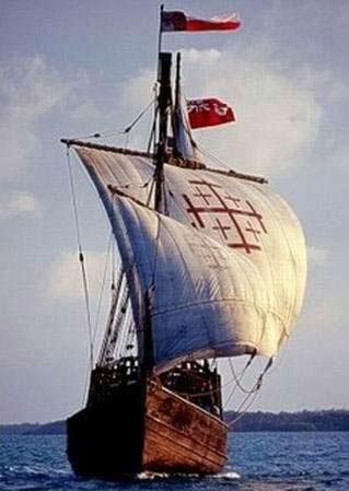 地理大发现时代的帆船