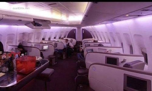 【奇闻异事】飞机上的豪华头等舱到底啥样?