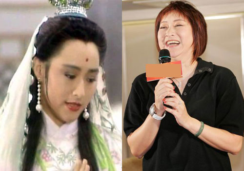 新白娘子传奇 剧中演员今昔对比照 李盈悦