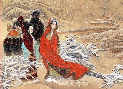 历史上真实的王昭君:归汉不成服毒自尽