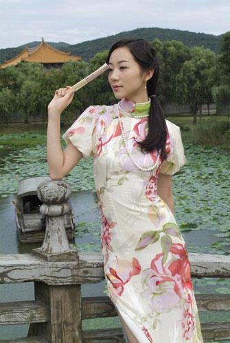 各路女星秀旗袍展示中国美