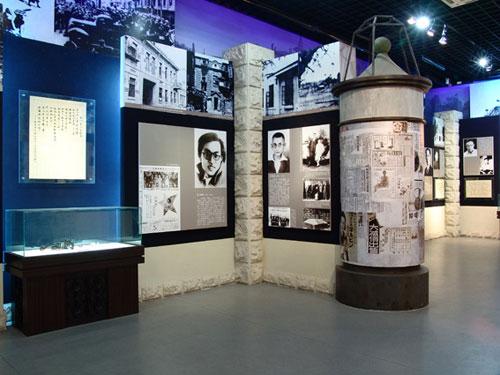 展馆陈列3 哈尔滨·东北烈士纪念馆