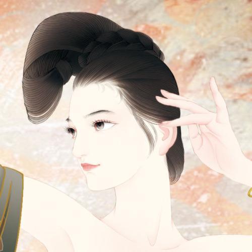 插画大师张旺手绘中国风插画2