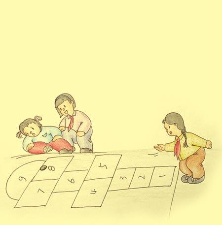 童年时期必玩的小游戏