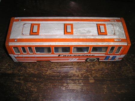 皮玩具--公共汽车