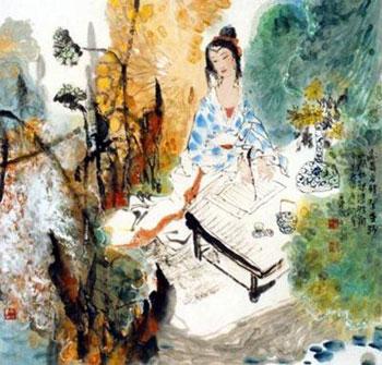 中国古代四大美女之——沉鱼