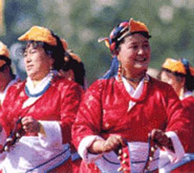 门巴族主要聚居在西藏墨脱、林芝、错那等县.\