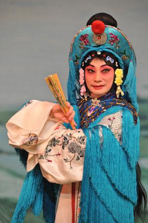 北京京剧院演出,梅葆玖