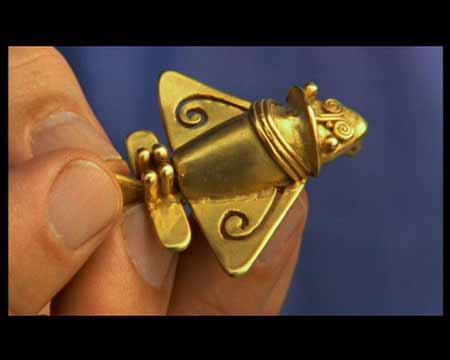 古代南美人制作的昆虫模型,难道这个真的是现代飞机的模型吗?