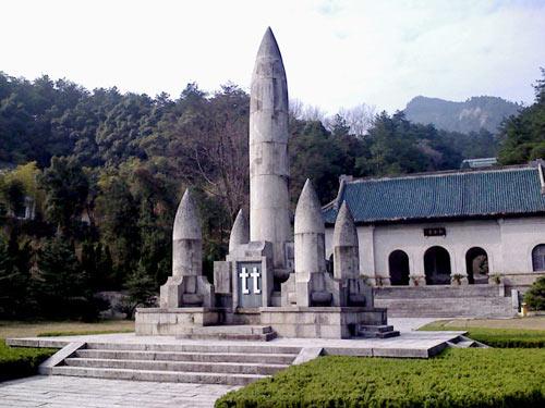 南岳忠烈祠纪念塔