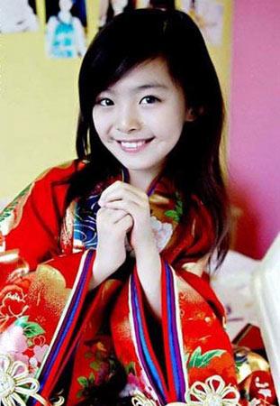 清纯唯美女生头像童星