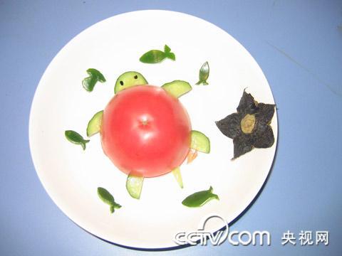 蔬菜拼图幼儿园