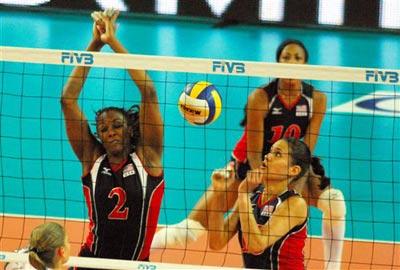 中美女排对抗赛 恒大VS美国