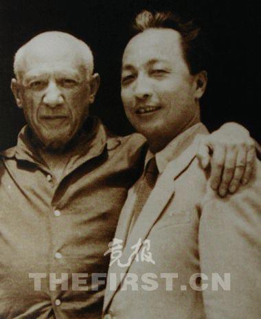 与毕加索相遇如果问张仃,一生中,他最喜欢哪位画家,张仃的答...
