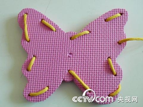 手把手教您制作蝴蝶穿线板!
