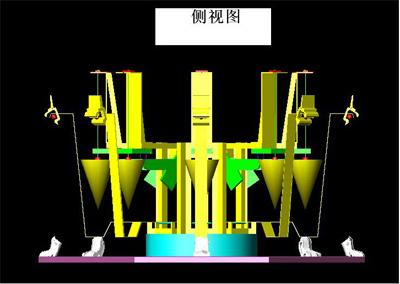 [我爱发明]地动仪内部结构装置